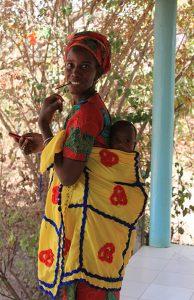 ©Clémentine Une patiente et son enfant à la MMW