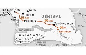 ©Google Maps Le district de Wassadou est très isolé