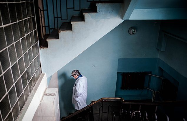 ©Sadak Souici | Dans un hôpital de la région de Donetsk