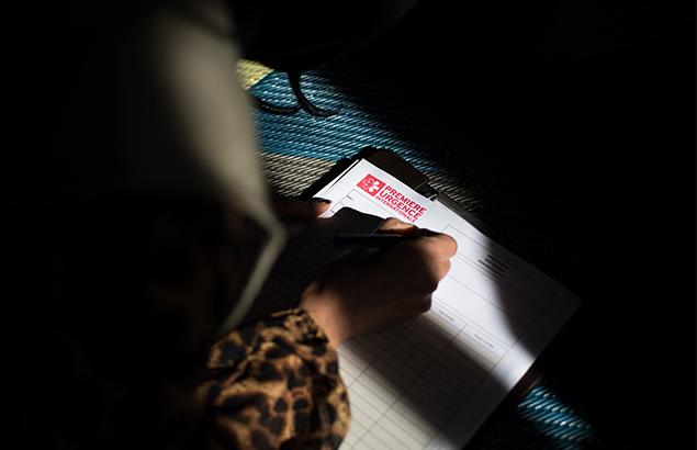 © Florent Vergnes | Santé mentale en Irak : trouver la force pour parler de ses problèmes représente déjà un grand pas.