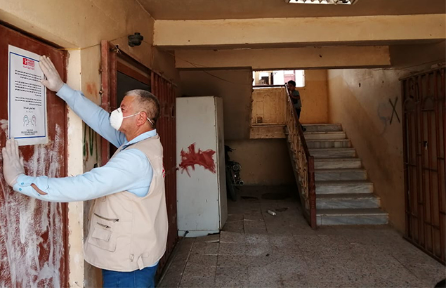 © Première Urgence Internationale | Santé mentale en Irak : campagne de sensibilisation à la COVID-19 à Kilo 7.
