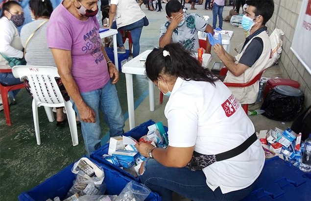 Humanitarian response in Colombia with Première Urgence Internationale