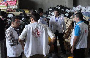 ©Première Urgence Internationale | Concertation de l'équipe après la guerre de 51 jours en 2014
