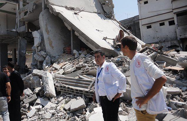 ©Première Urgence Internationale | Réponse d'urgence suite à la guerre de 51 jours en 2014